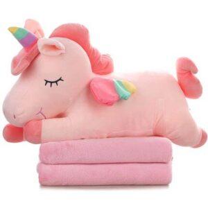 Almohada de unicornio para niña