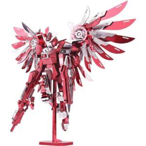 Angel robot luchador metálico para ensamblar
