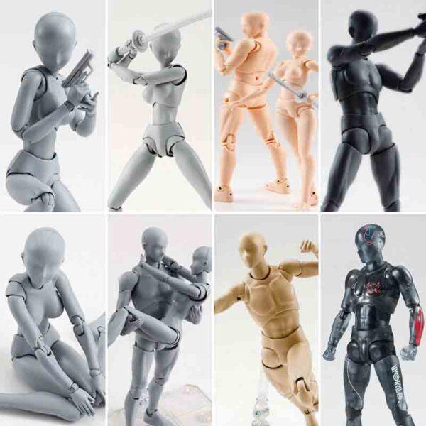 Anime Archetype Movible KUN Body Chan