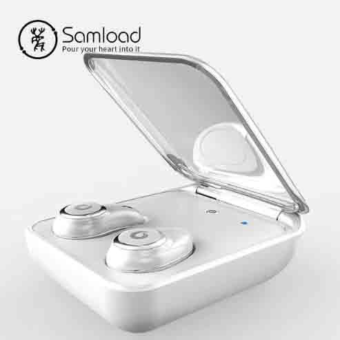 Bluetooth 5,0 auriculares inalámbricos IPX7 impermeables