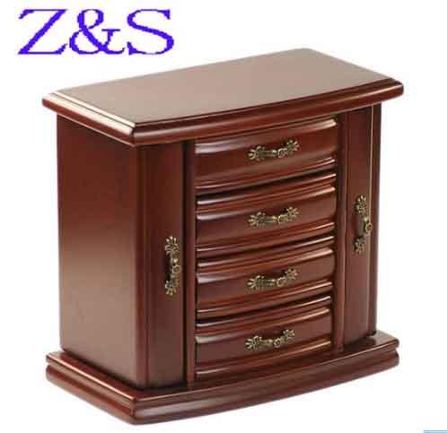 Caja de lujo en madera para joyería