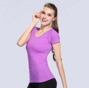 Camiseta de secado rápido - ropa fitness deportes