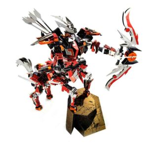 Centauro caballero arquero para ensamblar en acero inoxidable