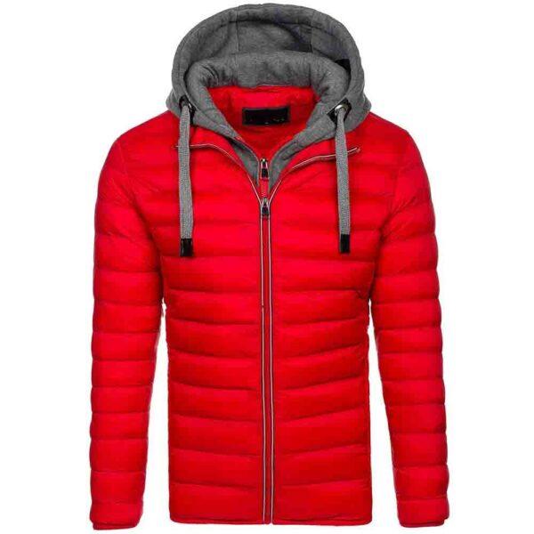 Chaqueta parka abrigo con capucha de invierno