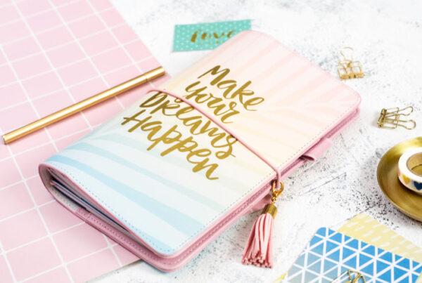 Cuaderno de notas planificador para viajes