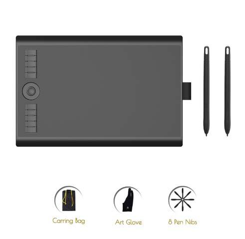 Digital Tablet para dibujo artístico GAOMON M10K