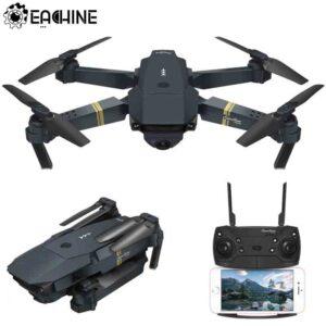 Drone Eachine E58 WIFI FPV con cámara granangular HD plegable