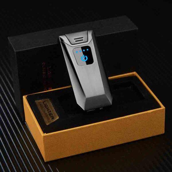 Encendedor con huella digital eléctrico biselado