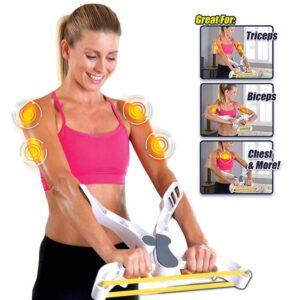 Equipo de fitness para fortalecer brazos