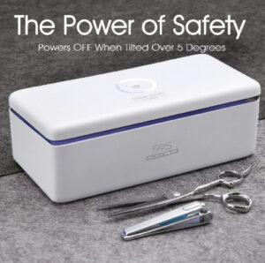 Esterilizador UV caja-59 S para pequeños accesorios