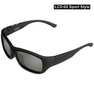 Gafas de sol de inmersión electrónica LCD diseño Original cristal líquido polarizado