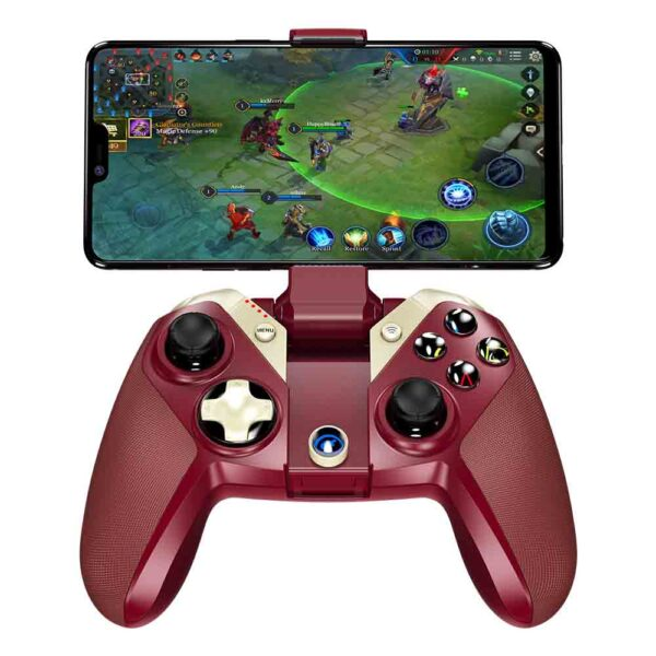 GameSir M2 MFi gamepad para iOS iPhone, iPod, Mac, Apple TV rojo