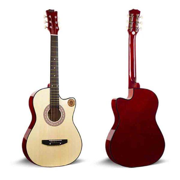 Guitarra acústica de chapa especial de 38 pulgadas