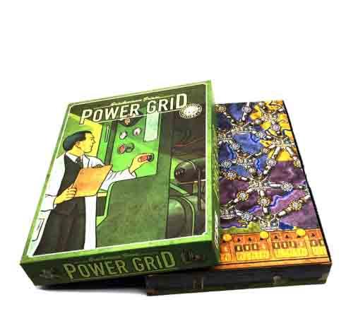 Juego de mesa de Red Eléctrica 2-6 jugadores