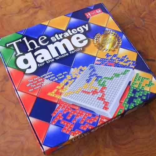 Juego de mesa estratégico Tetris Blokus para 4 personas