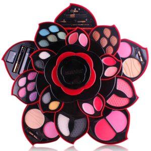 Kit De Maquillaje MISS ROSE Para Ojos Y Con Labial
