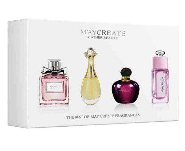 Kit MayCreate 4 piezas 100 ML desodorante fragancia