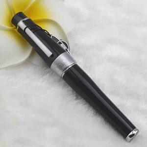 Lujo negro bolígrafo Rollerball Duque