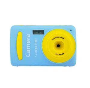 Mini cámara digital 16 MP azul