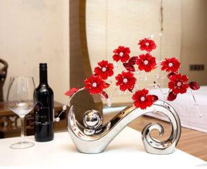 Minimalista cerámica acrílica decorativa