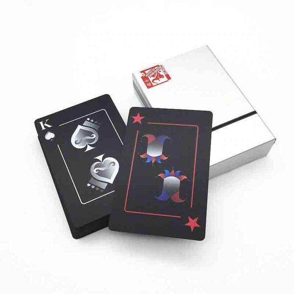 Naipes Poker Impermeables Con Caja de Aluminio