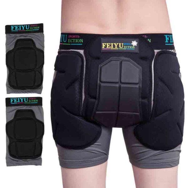 Pantalones cortos con protección rodillas y cadera H