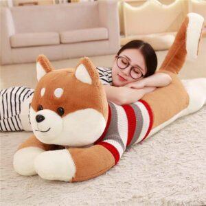 Peluche gigante kawaii de perro raza Shiba Inu