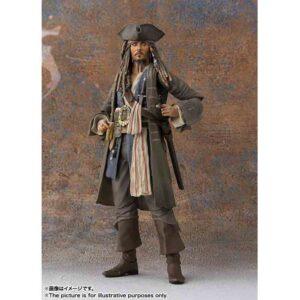 Piratas del Caribe capitán Jack Sparrow