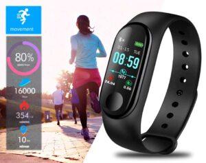 Reloj deportivo inteligente impermeable BANGWEI - Monitor de Frecuencia Cardíaca