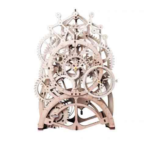 Robotime modelo reloj mecánico rompecabezas 3D