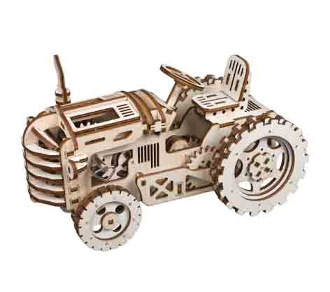 Robotime modelo tractor mecánico rompecabezas 3D