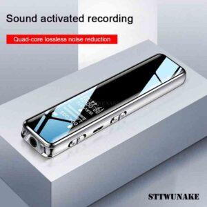 STTWUNAKE mini grabadora de voz digital pluma de audio dictaphone
