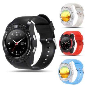 Smartwatch pantalla táctil reloj de pulsera con cámara