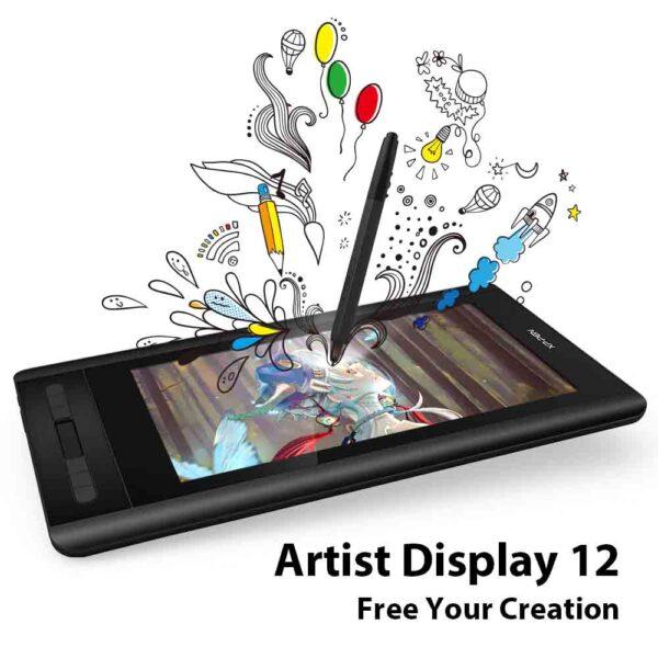 XP-Pen Artist 12 tableta gráfica de dibujo