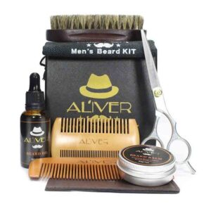 kit de cuidado de la barba