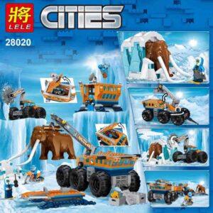 Base móvil de exploración ártica Compatible con Lego