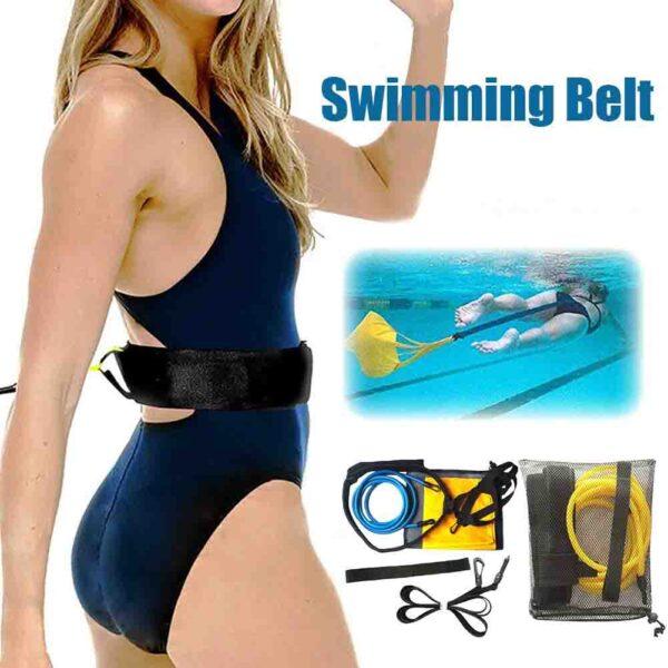 Cinturón de entrenamiento para resistencia en natación