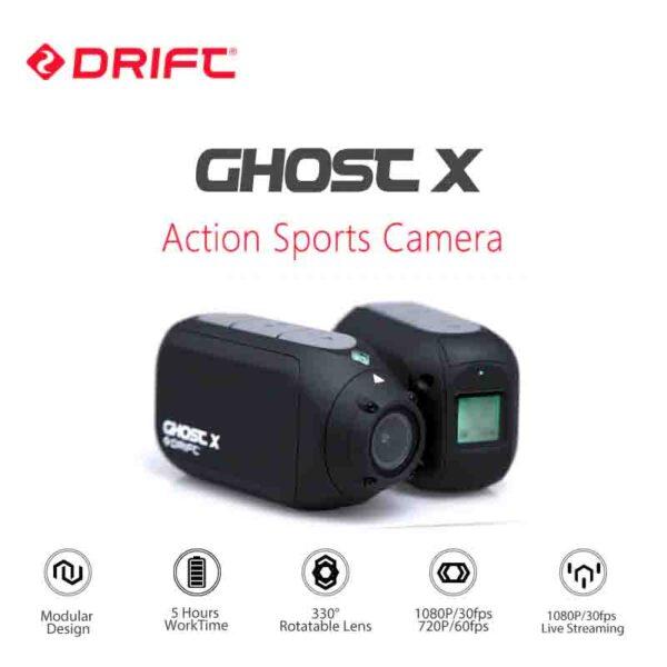Drift Ghost X cámara deportiva 1080 P motocicleta