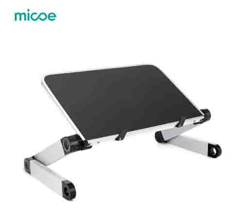 Escritorio de ordenador MICOE portátil plegable ajustable de aleación en aluminio