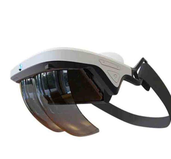 Gafas de realidad aumentada holográfica efectos