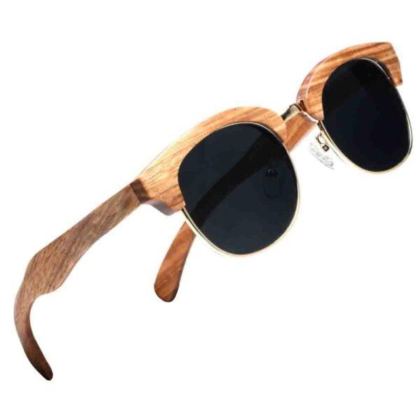 Gafas de sol de madera, gafas de sol polarizadas UV400