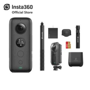 Insta360 ONE X cámara de acción deportiva Video VR 360 para iPhone y Android