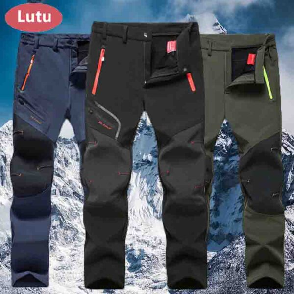 LUTU pantalones de senderismo impermeables