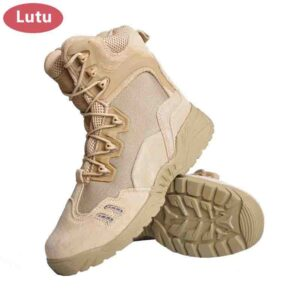 LUTU zapatos para senderismo impermeables transpirables antideslizantes
