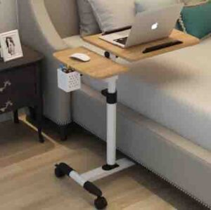Mesa de ordenador plegable portátil ajustable se puede rotar