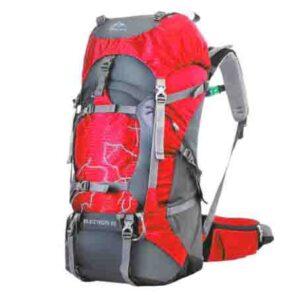 Mochila de senderismo 60L impermeable para viaje y camping