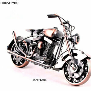 Motocicleta Vintage De Hierro Pesado