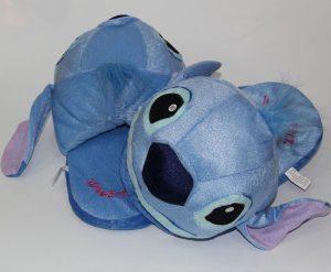 pantunflas de peluche stitch